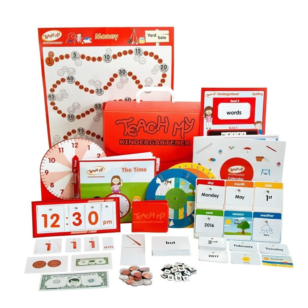 Teach my kindergartener learning kit deluxe products