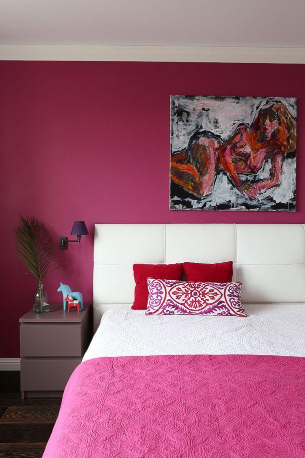Hot Pink In The Bedroom Hot Pink Bedroom Decor Hot Pink Bedrooms Hot Pink Room
