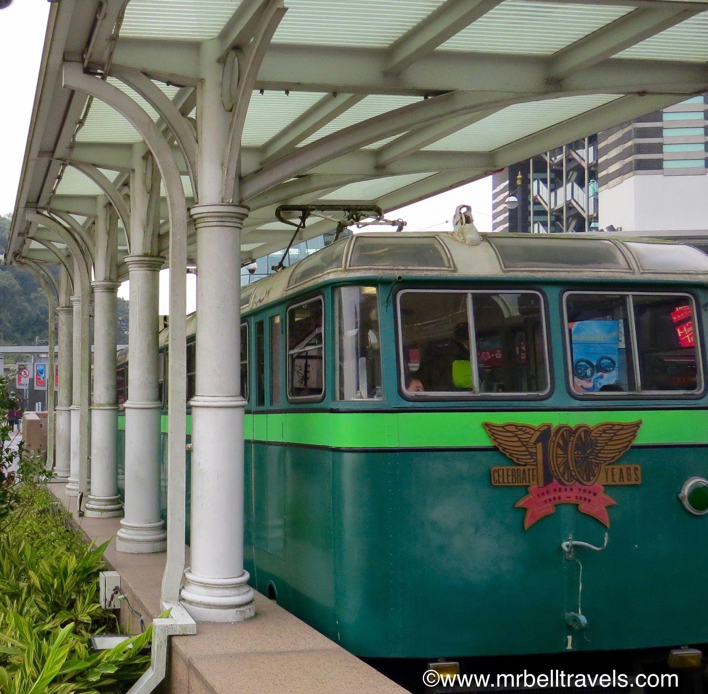 A Vintage Peak Tram Hong Kong