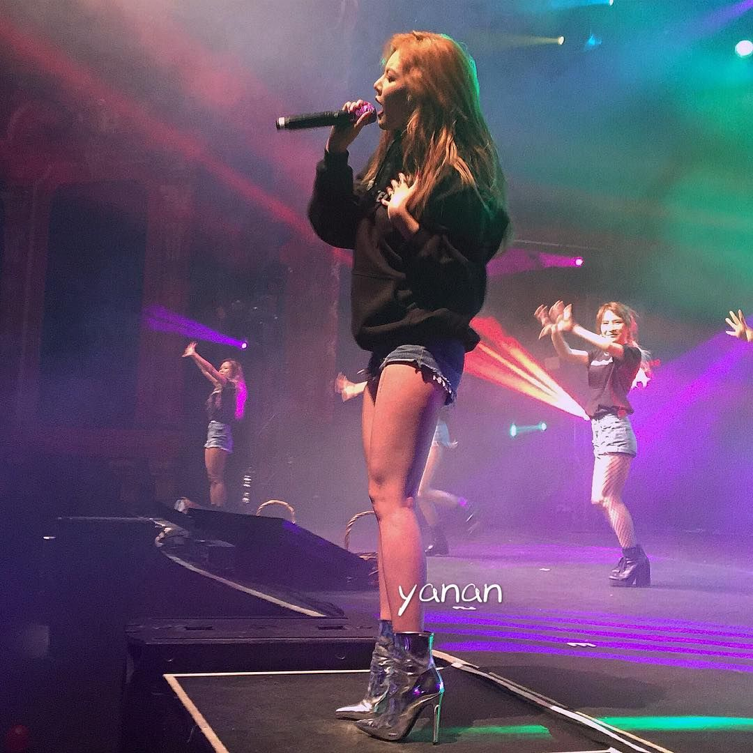 Hyuna 'The Queen's Back' Concert