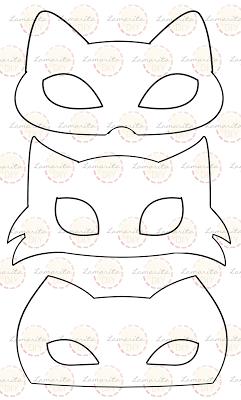 Guirnalda Máscara de Gato