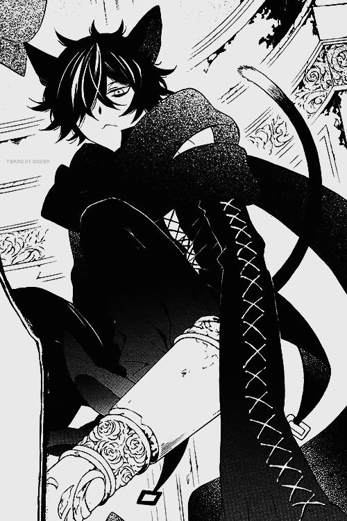 pandora hearts, Cheshire cat, and manga image