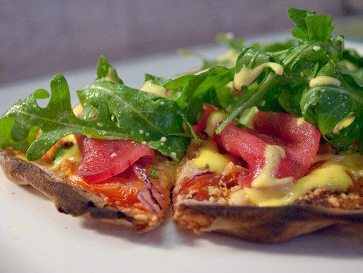 Bar Eats: Some Great Small Plates at Prospect. Can't miss dish - Ahi Tuna Flatbread. #brooklyn
