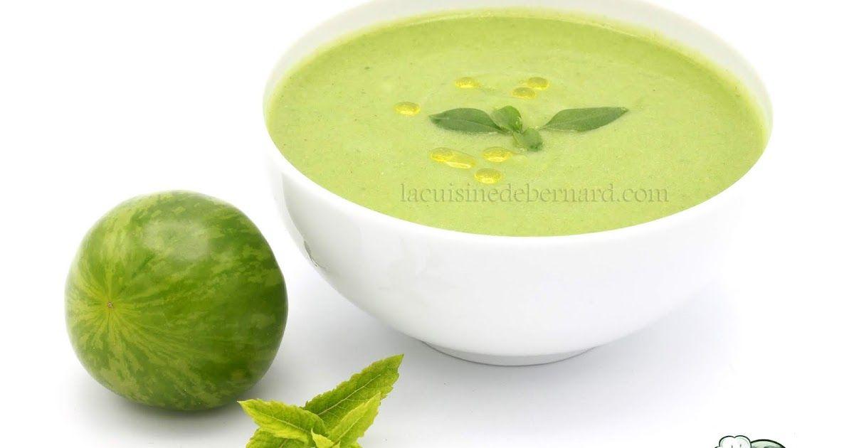 Gaspacho vert (avec images)   La cuisine de bernard ...