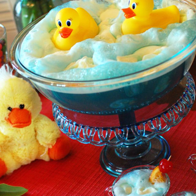 Ducky Baby shower punch / Tidy mom