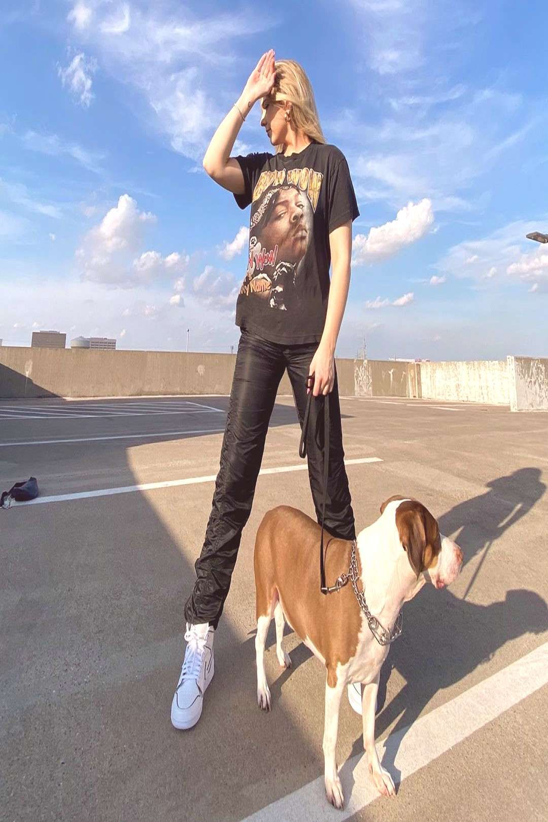Jordanretro Outdoor Person Dog Sky