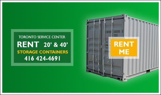 Toronto Service Center is now offering Portable Storage Container