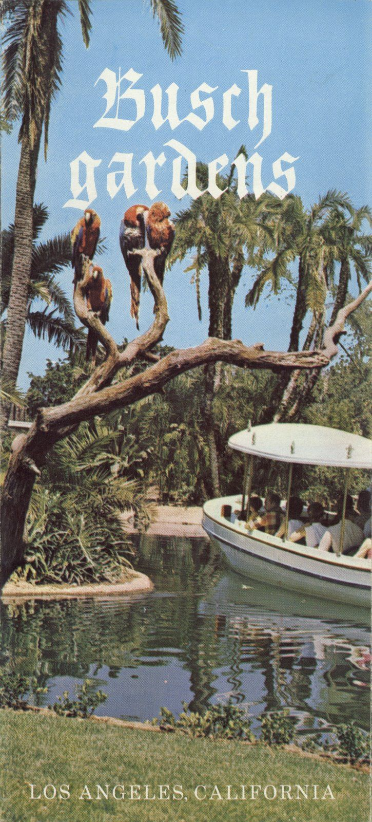 Busch Gardens, Van Nuys, California, Opened 1966   It Closed But The  Brewery Remains.