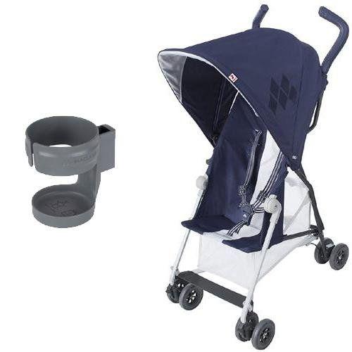 Maclaren Mark Ii Stroller With Cup Holder Midnight Baby
