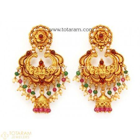 Temple jewellery earrings – Artofit