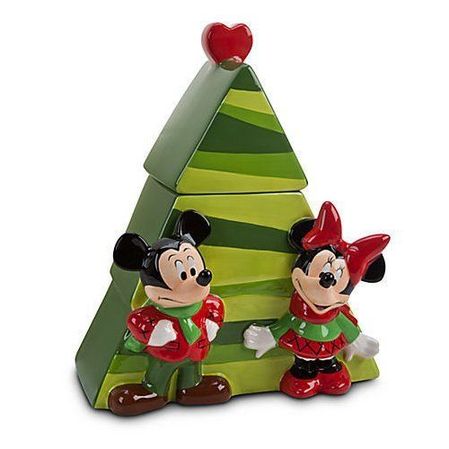 Details About Disney Cute Ceramic Christmas Tree Mickey Minnie Mouse Cookie Jar Minnie Mouse Cookies Christmas Tree Cookies Cookie Jars Vintage
