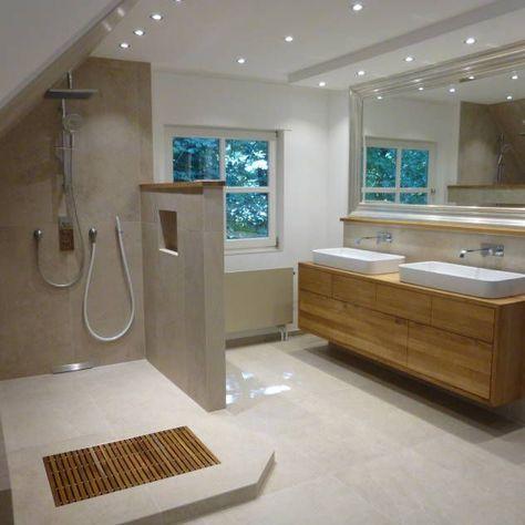 Badezimmer Ideen, Design und Bilder Pinterest House, Bathroom - graue moebel einrichtung modern ideen