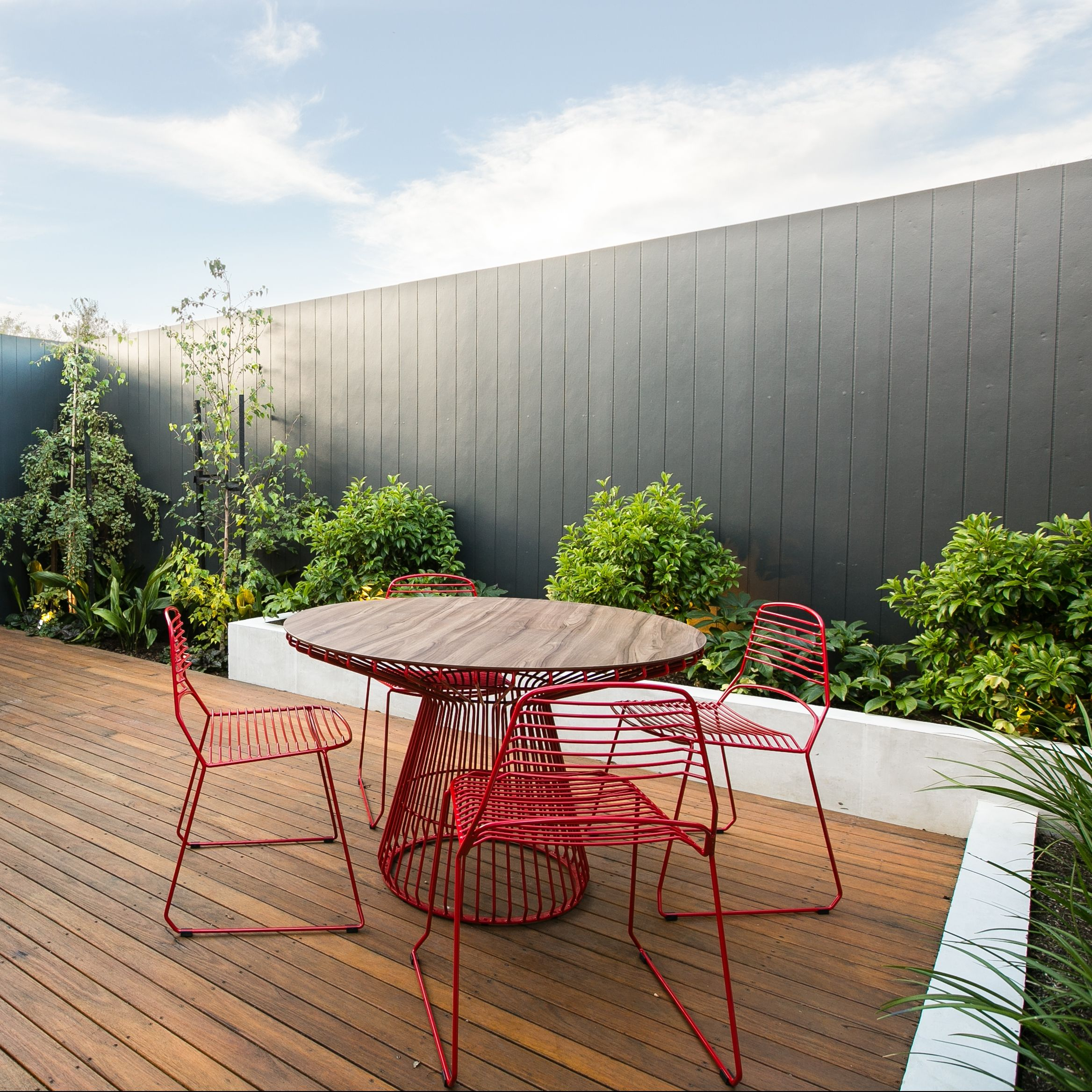 Inner City Melbourne Tait Breeze jil jak chairs table outdoor