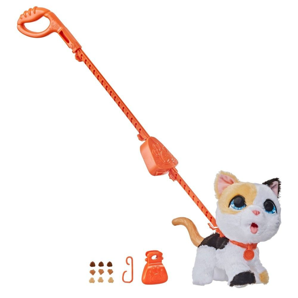 Furreal Big Wags Cat In 2020 Fur Real Friends Pet Toys Animal Figures
