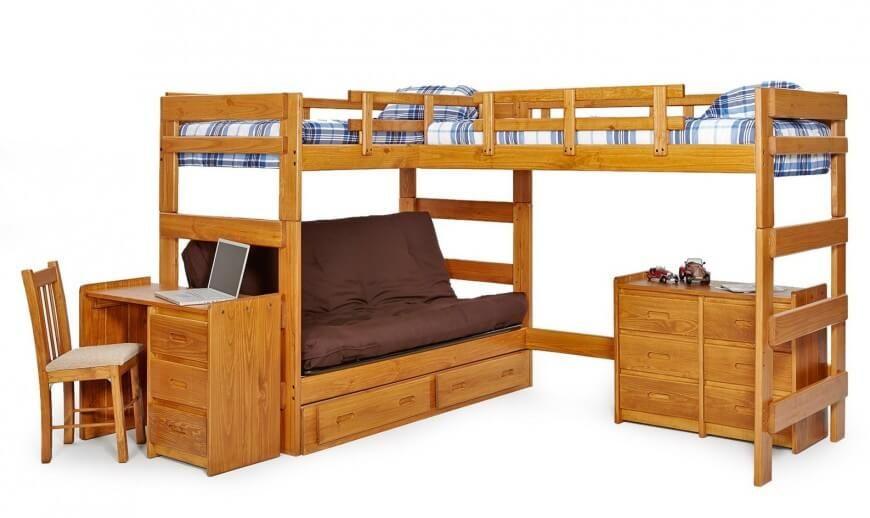 25 Bunk Beds with Desks (Made Me Rethink Bunk Bed Design)   Bunk ...
