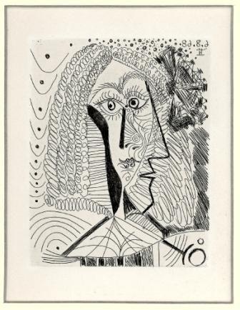Picasso, La Celestine.