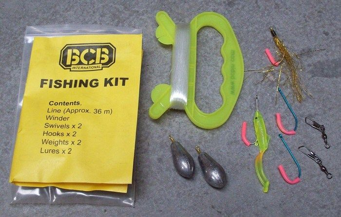 Emergency survival fishing kit bushcraft survive for Survival fishing kit