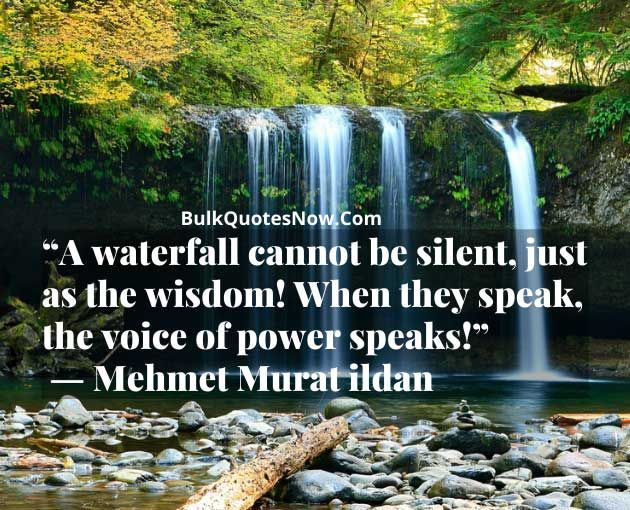Waterfall Quotes Nature Waterfall Quotes Waterfall Sounds Nature Quotes