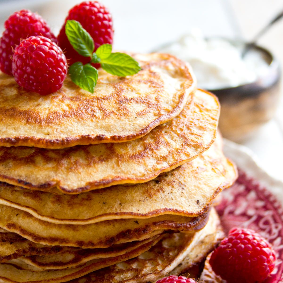 Almond Cream Cheese Keto Pancakes – Sugar Free Londoner