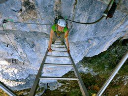 some via ferrata routes and descriptions