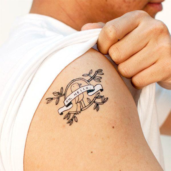 Oh Hello Tattoos Best Temporary Tattoos Cute Little Tattoos