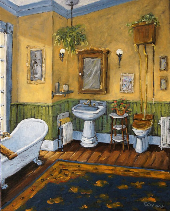 Victorian Bathrooms Decorating Ideas: Victorian Bathroom By Prankearts Painting
