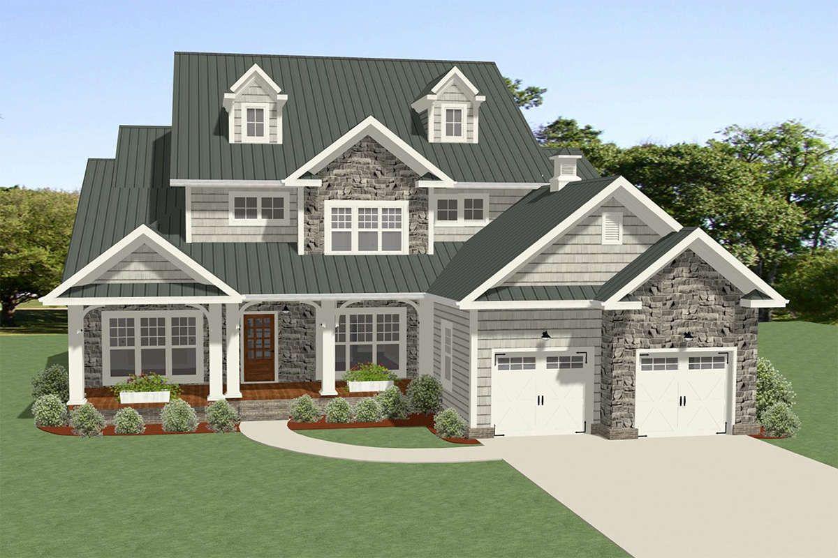 Craftsman House Plan 6849