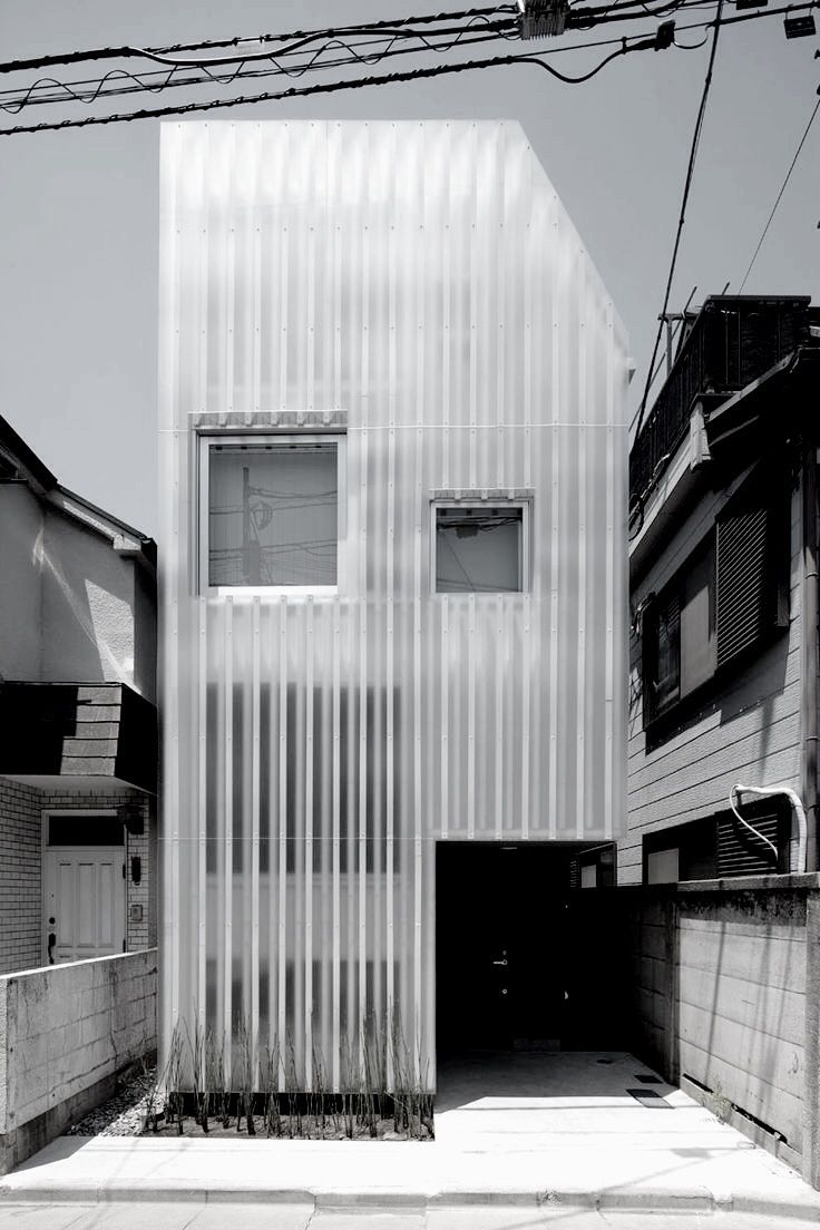 House kikuicho japan by studio noa