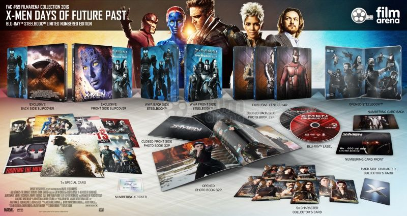 X Men Days Of Future Past Fac 59 Fullslip 337 501 Days Of Future Past Past 2015 Films
