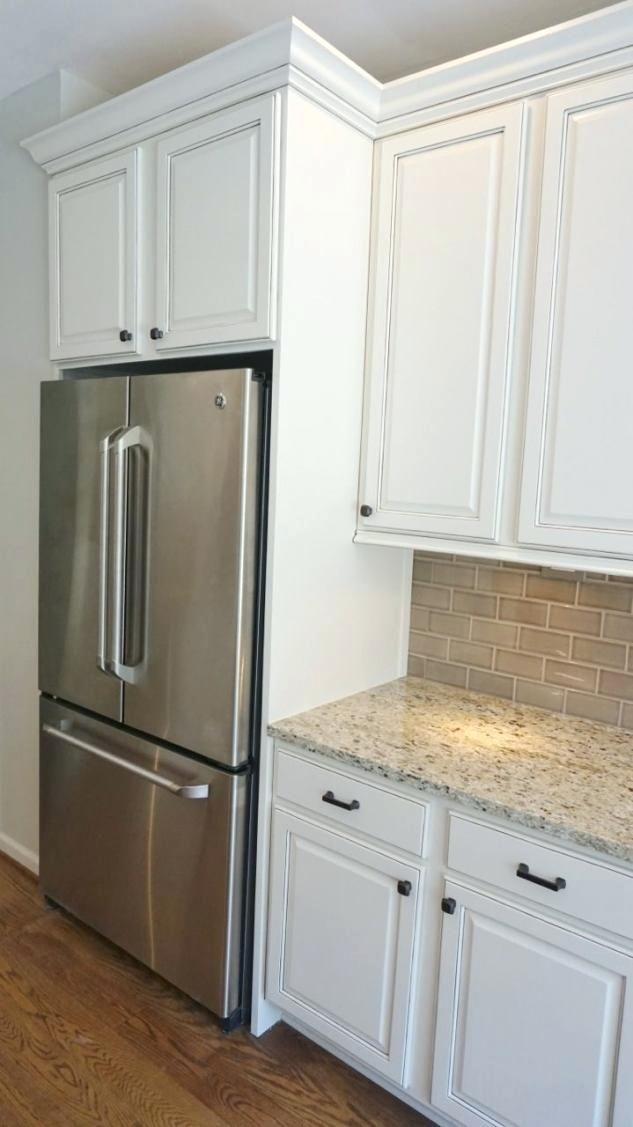 Ikea Refrigerator Cabinet Photo 3 Of 5 Full Size Kitchen