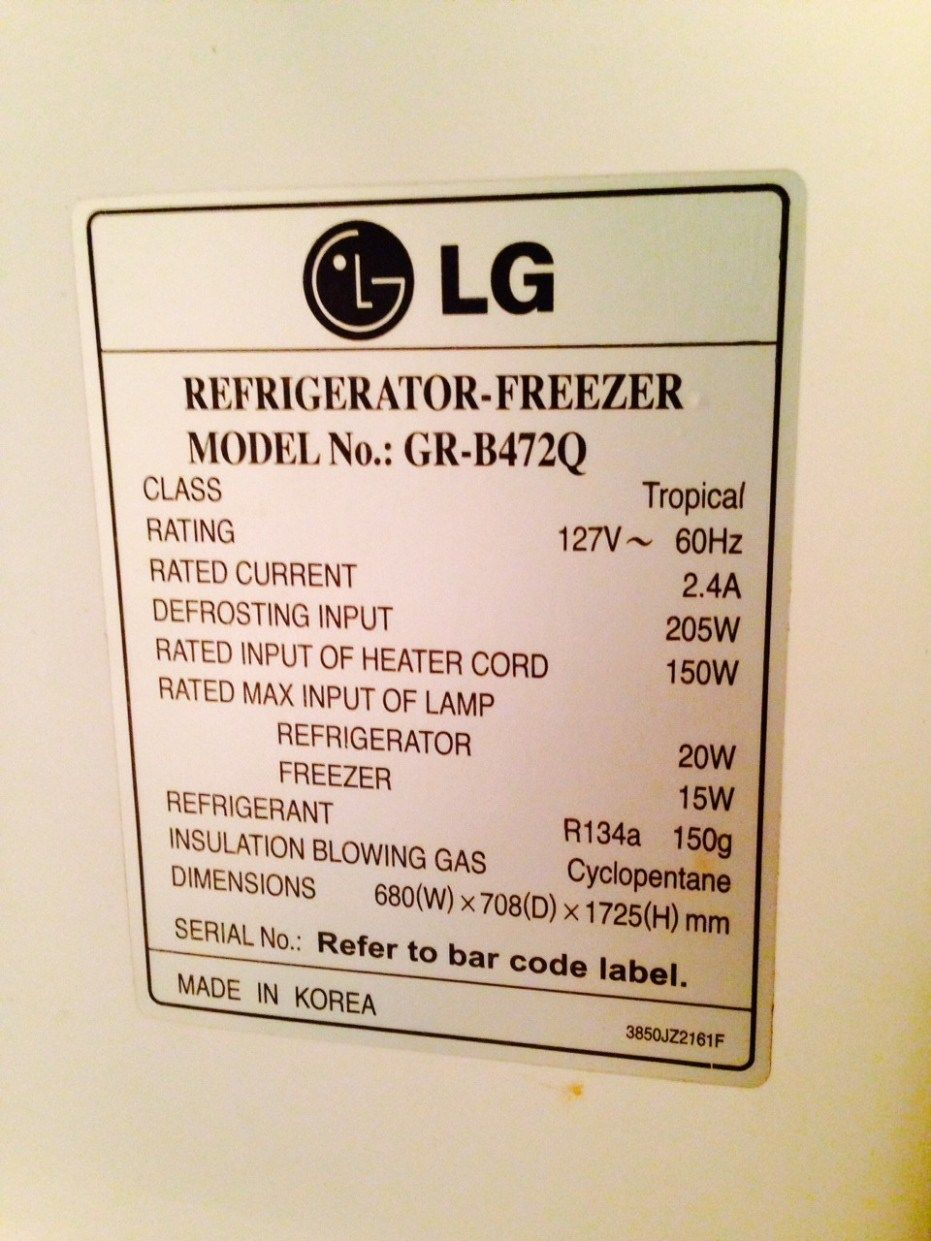 Never Underestimate The Influence Of Refrigerator Amp Draw Refrigerator Amp Draw Refrigerator Fridge Lg Refrigerator Compressor