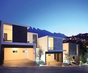 Casas modernas y fachadas contemporanea m s informaci n for Arquitectura de casas modernas