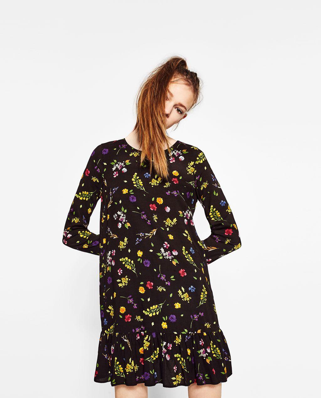 Floral print dress from zara floral print dress