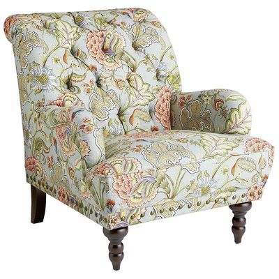 Best Chas Blue Floral Armchair Furniture Blue Armchair Armchair 400 x 300