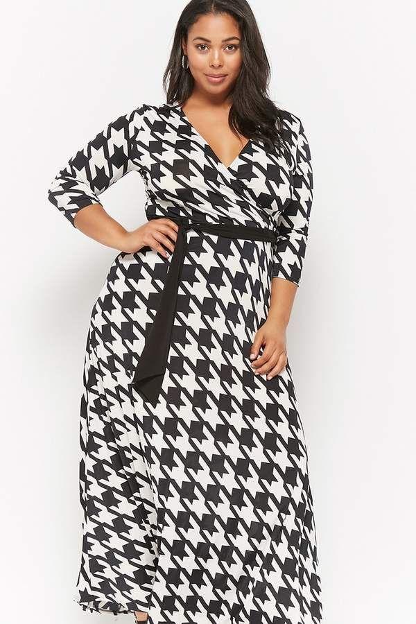 Houndstooth Fashionable Dress