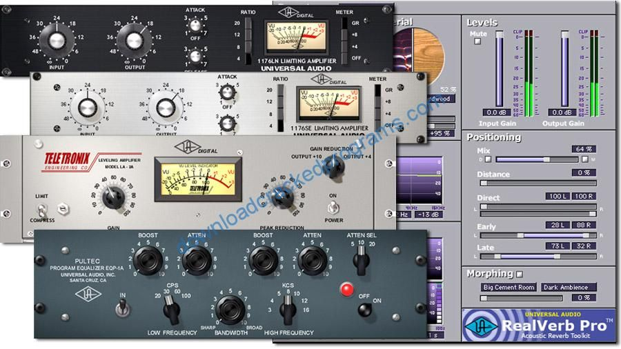 Download Cracked UAD-Universal-Audio-Plugin Bundles Full