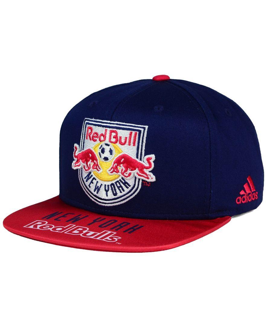adidas New York Red Bulls Skyline Snapback Cap