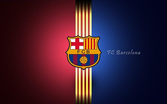 Lataa kuva Barcelona, värit, Barca, Katalonia, logo
