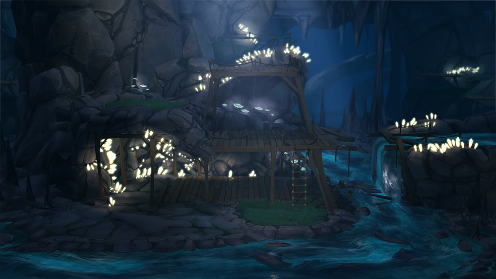 HD Render of the Cave #creatures #online #game