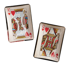 King & Queen of Hearts Dishes