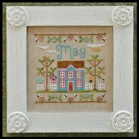 May picture done by :COUNTRY COTTAGE NEEDLEWORKS