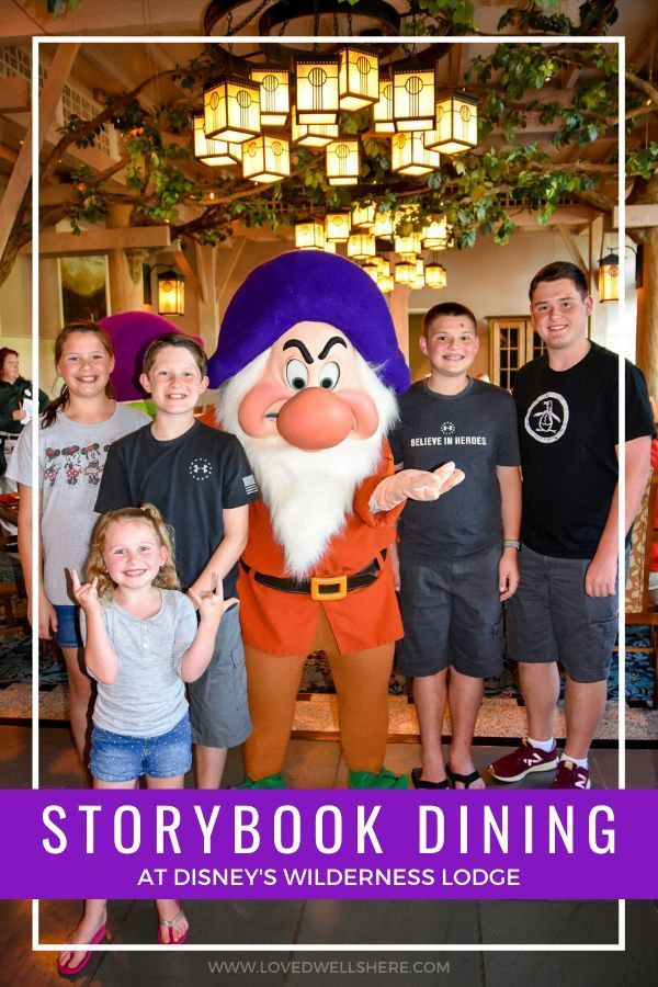 Storybook Dining at Artist Point Adventures by disney