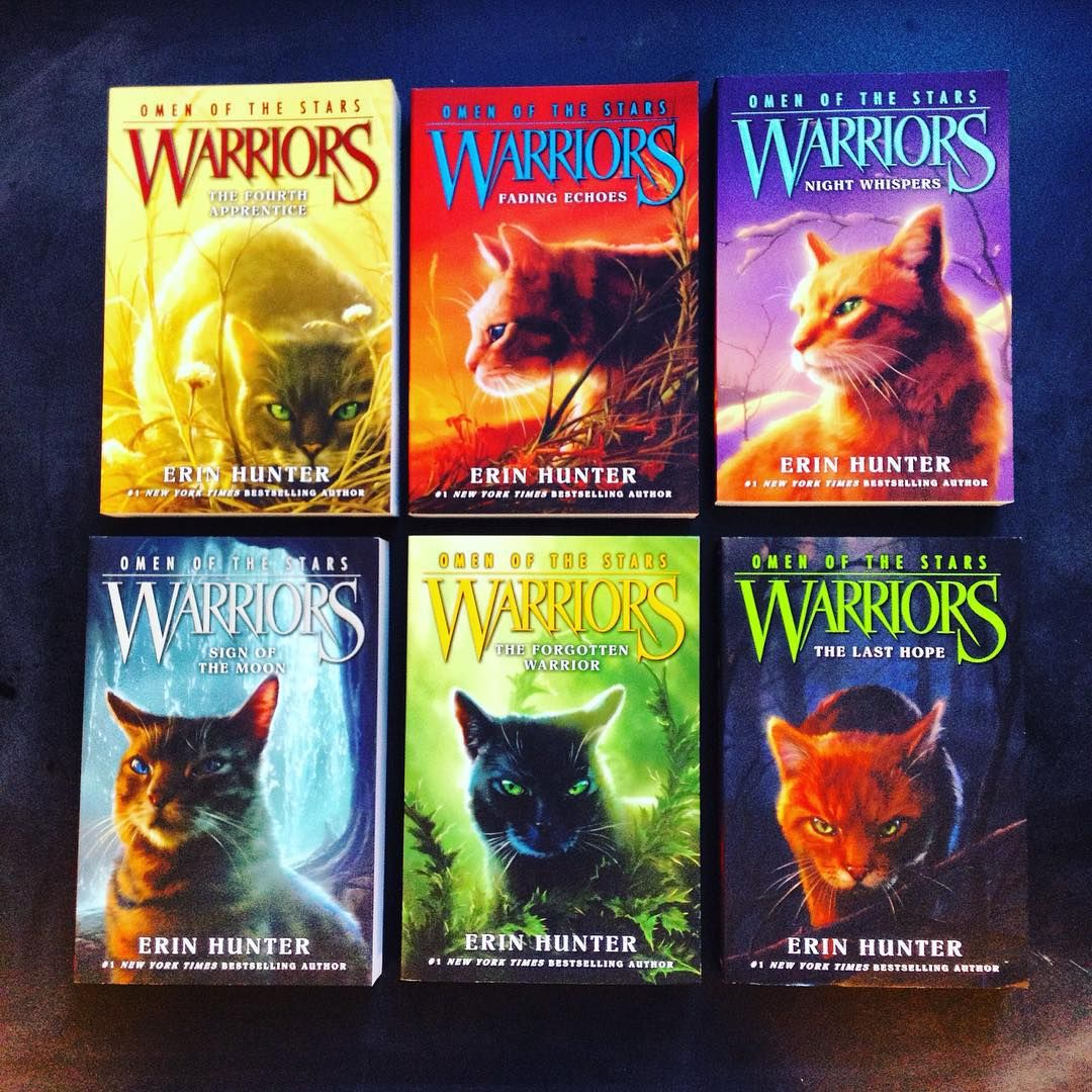 Warriors Erin Hunter Book 5: It's A WARRIORS Makeover! Look At Those Stunning New