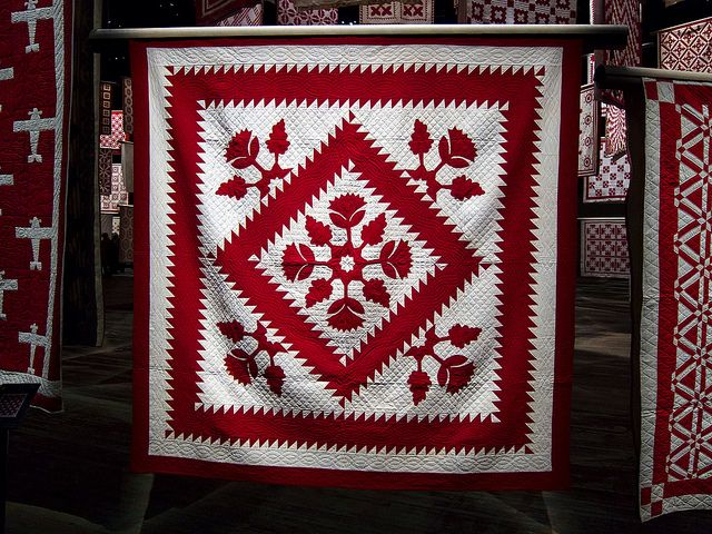 Infinite Variety, Three Centuries of Red and White Quilts. | by ... : quilts nyc - Adamdwight.com