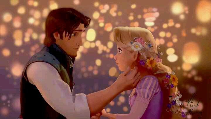 LOVE Flynn Rider! And Rapunzel in Tangled