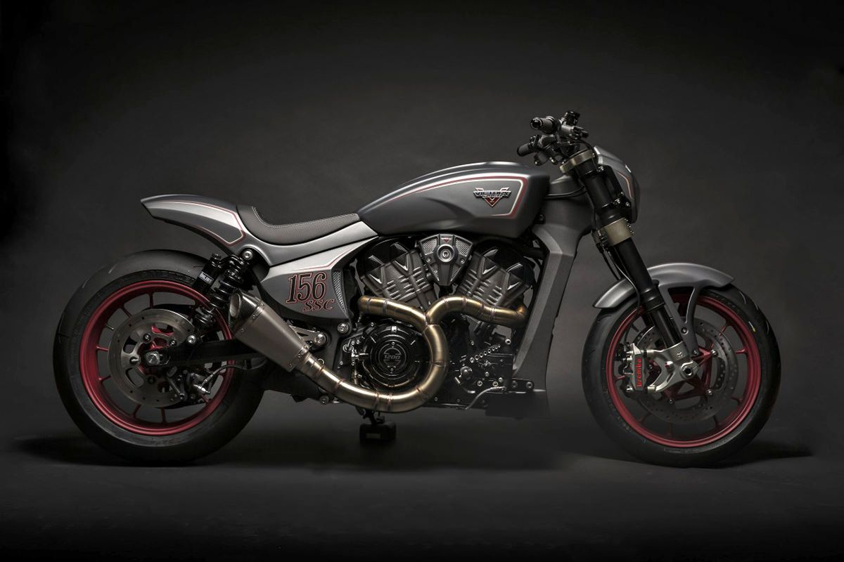 Victory Ignition Concept #custommotorcycles #motoscustom | caferacerpasion.com