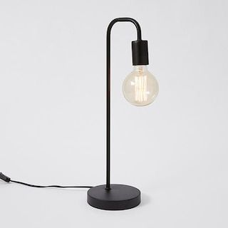 spencer table lamp black target australia