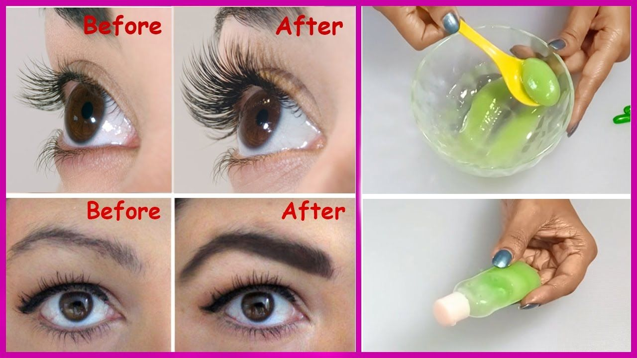 How to grow long thick eyelashes eyebrows in just 3