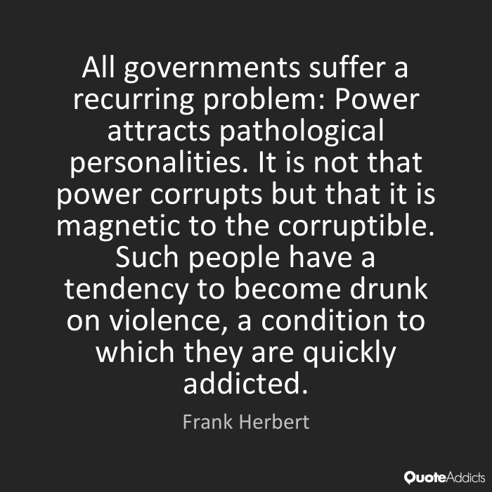 it is not that power corrupts but that it is magnetic to the it is not that power corrupts but that it is magnetic to the corruptible