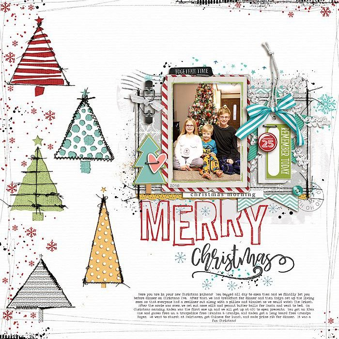 Merry Christmas scrapbook layout by bessysue581 at Studio Calico ...